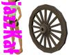 Spare Cart Wheel