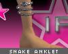 [V4NY] Snake Anklet