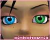 Crystal/Green Eyes