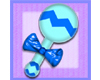 Small Baby Rattle - Blue