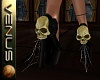 ~V~Skull Pumps