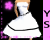 #YS White Sundress