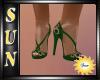 [SUN] Winter Green Heels