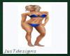 JT Bikini Royal Blue