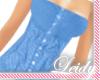 -LS- Summer Top Blue