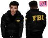 FBI Jacket- Yellow