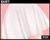 金. White Skirt