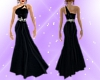 M.R. Ebony Sparkle Gown