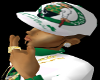 celtics white fitted hat