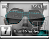 [BE] Blue Plaid|Shades M