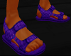 TOXIC PURP CASUAL SANDLE