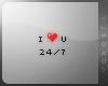 !V I love you 24/7
