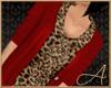 Ruffles & Cardi Red Leo
