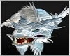 Silver Asian Dragon