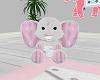 |PQ|Boho Plush Elephant