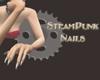 SteamPunk Nails