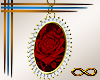 [CFD]Red Cameo Earring
