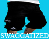 LRG BLACK CARGO SHORTS