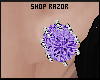Purple Diamond Studs!Req