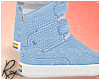 Blue Gay Hightops by Roy