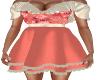 Cherish Apricot Dress