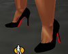 Black Heel Red Bottoms