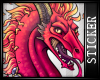 [FP] Red Dragon Sticker