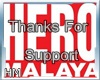 Thanks For Support