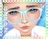 !!S Kid Glasses Blue