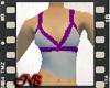CrissCross Grey Purple