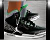 *DD*Jordans-3-Green/Mens