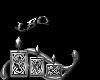 sticker leo metal
