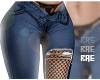 RLL Lace Net Jeans