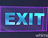 Glow Exit Sign