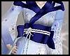 Blue Geisha Kimono