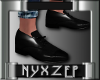 No Socks Mens Shoe Black