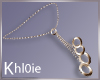 K olie bronze rings neck