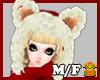 {KUNO}Bear-Hood*red