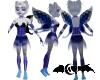 Blue corset faerie