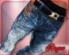 {r} Stem Bleached Jean