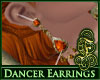 Dancer Earrings FireOpal