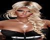 Blonde Glitter w Braid