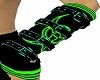 -X- lime buckle warmers