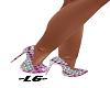 ~LG~ DIAMOND PINK HEELS