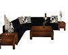 [BD] Black Sofa w Poses