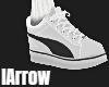 White Sneaker + Socks
