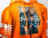 supreme hoodie orange
