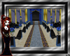 BLACK/BLUE WEDDING HALL