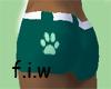 Fabu... green shorts