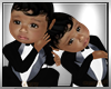 BABYBOY TWINS BLACK SUIT